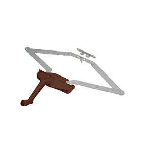 "16-1/8"" Bronze Roto-Gear Awning Window Operator"