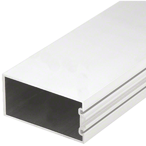 "CRL-U.S. Aluminum CW26452 White KYNAR Paint 4"" Structural Silicone Glazed Vertical Mullion - 24'-2"""