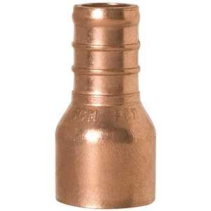 Sioux Chief 644X2 Copper Straight Adapter 1/2 in. PEX x 1/2 in. Female Sweat