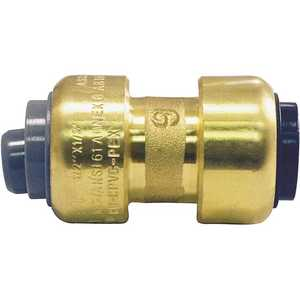 Tectite FSBPBC12 1/2 in. Brass Push-to-Connect Polybutylene Conversion Coupling