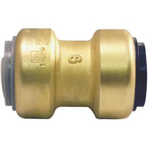 Tectite FSBPBC34 3/4 in. Brass Push-to-Connect Polybutylene Conversion Coupling