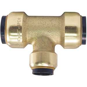 Tectite FSBT343412 3/4 in. x 3/4 in. x 1/2 in. Brass Push-to-Connect Reducer Tee