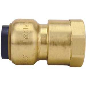 Tectite FSBFA12 1/2 in. Brass Push-to-Connect x Female Pipe Thread Adapter