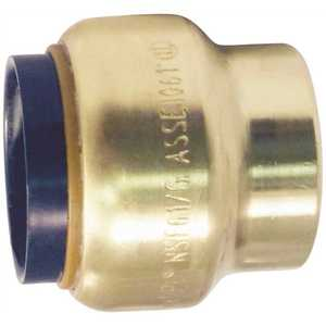 Tectite FSBCAP12 1/2 in. Brass Push-to-Connect Cap