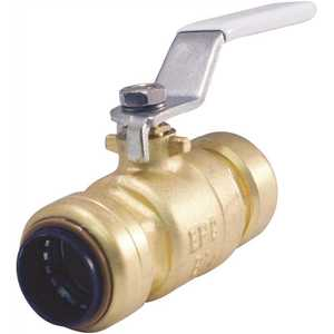 Tectite FSBBV34 3/4 in. Brass Push-to-Connect Ball Valve