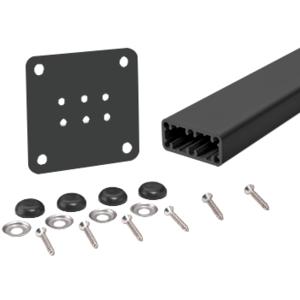 """Hansen HPT36KBL Matte Black Trim-Line 36"""" Surface Mount Post Kit"""