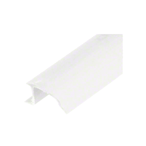 CRL VGB3997W White Snap-In Vinyl Glazing Bead