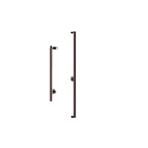 "Oil Rubbed Bronze Right Hand Reverse Rail Mount Cylinder/Thumbturn ""F"" Top Securing Deadbolt Exterior Handle"