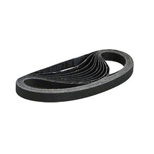 "1/2"" x 18"" 400X Grit Silicon Carbide Abrasive Belt - 10/Bx"
