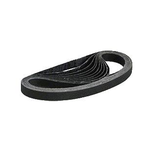 "CRL CRL12X18220X 1/2"" x 18"" 220X Grit Silicon Carbide Abrasive Belt - 10/Bx"