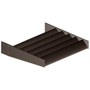 """Dark Bronze 8"""" Airfoil Blade - Custom Length"""