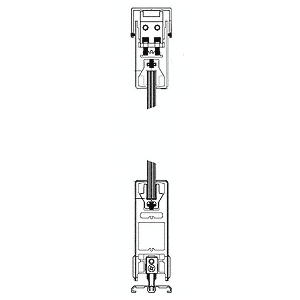 "Satin Anodized X-/-X Format Sliding Door Entrance System - 4"" Square Top 6"" Square Bottom Rail"