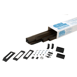 "Bronze 96"" Euro Retractable Screen Door Kit"