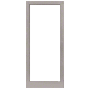 Clear Anodized Class 1 Custom Blank Single Series 400T Thermal Medium Stile Offset Hung Entrance Door- No Prep