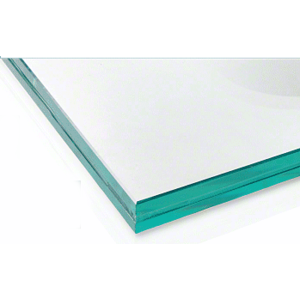 """CRL LG17CC 13.52mm Clear Laminated Tempered 48"""" x 41"""" Glass Panel"""
