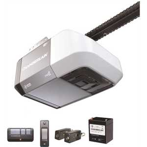 Chamberlain C273 1/2 HP Equivalent DC Chain Drive Wi-Fi Garage Door Opener with Battery Backup