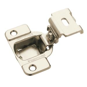 Amerock BP2811D1314 1-3/8in (35 mm) Overlay Matrix Concealed Nickel Hinge - Pair