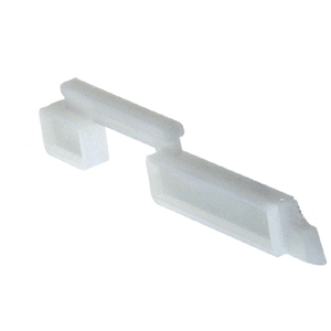 "Right Hand Slide Bolt - .230"" Width; .700"" Height - pack of 20"