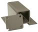 "CRL 1FP48KBGY Beige Gray 100 Series 48"" Fascia Mount Post Kit"