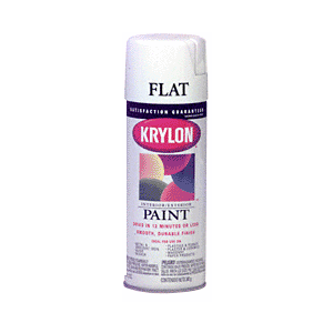 KRYLON KP1502 Flat White Spray Paint