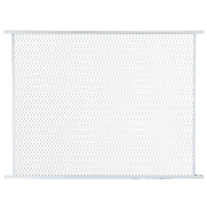 """CRL PG30W White 36"""" Sliding Screen Door Grille"""