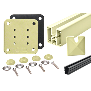 Hansen P1H42EKCRM Mill Aluminum 1100 Series End Post Kit
