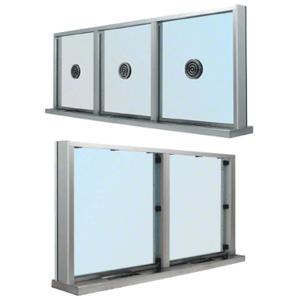 CRL S1SWS Brushed Stainless Steel Frame Multi-Lite Windows