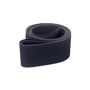 """CRL CRL4X64400X 4"""" x 64"""" 400X Grit Wet Abrasive Glass Grinding Belts - 5/Bx"""