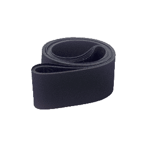 "CRL CRL4X10680X 4"" x 106"" 80X Grit Wet Abrasive Belts for Upright Belt Sanders - 5/Bx"