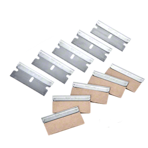 "CRL KKB12 .012"" Single Edge Metal Heavy-Duty Razor Blades"