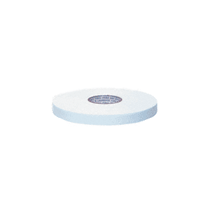 "CRL CRL210834 White 1/8"" x 3/4"" All-Purpose Foam Mounting Tape"
