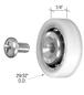 CRL D679 Nylon Ball Bearing Roller