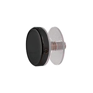 "CRL CAP114MBL Matte Black 1-1/4"" Diameter Standoff Cap Assembly"