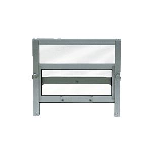 CRL 701AC Satin Anodized Custom Size Vertical Sliding Ticket Window