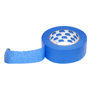 "CRL BL99112 Blue 1-1/2"" Windshield and Trim Securing Tape"