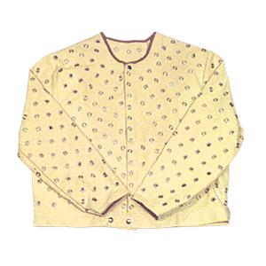 CRL C35GKVLG Large Cut Protection Jacket with Grommets