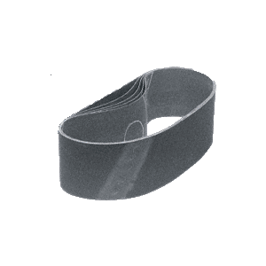 "CRL CRL3X18220X 3"" x 18"" 220X Grit Glass Grinding Belt for Portable Sanders - 10/Bx"