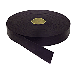 "Black 3/64"" Sealstrip Glass Setting Tape"