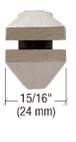 """CRL 3210 8-1/2"""" Steel Drop Jaw Glass Pliers"""