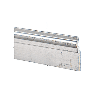 """CRL D1637M Mill Mirror Mount Frame Cleat 144"""" Stock Length"""