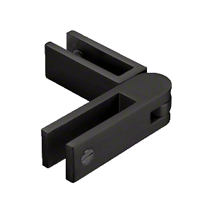 CRL GBCADJMBL Matt Black Adjustable Glass-to-Glass Bracing Clamp