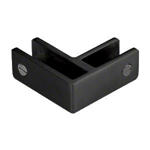 CRL GBC90MBL Matt Black 90 Degree Glass Bracing Clamp