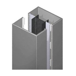 CRL PCS20CCM Custom Champagne Metallic Premier Series Square Column Covers Two Panels Opposing