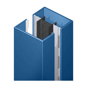 CRL DCS40CPT Custom Color Powder Painted Deluxe Series Square Column Covers Four Panels Opposing