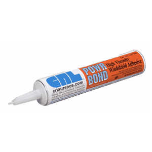 POWR BOND Hi-Viscosity Auto Glass Urethane Adhesive - 10.1 Fl. Oz. Cartridge
