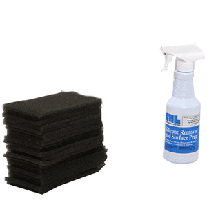CRL CK1T3 Silicone Clean Up Kit with SR200