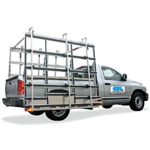 CRL GRAL2000WS Aluminum Pickup Truck Glass Rack with Wheel Skirt