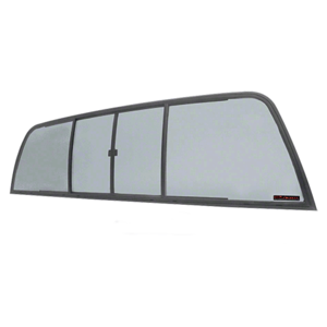 Duo-Vent Four Panel Slider with Solar Glass for 1975-1/2 to 1993 Ram Cabs