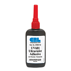 CRL UV60110 UV601 Low Viscosity UV Adhesive - 100g