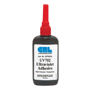 CRL UV70210 UV702 High Viscosity UV Adhesive - 100g
